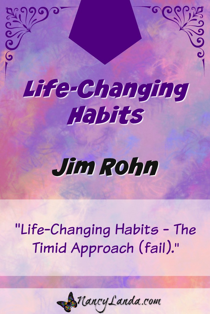 Life-Changing Habits