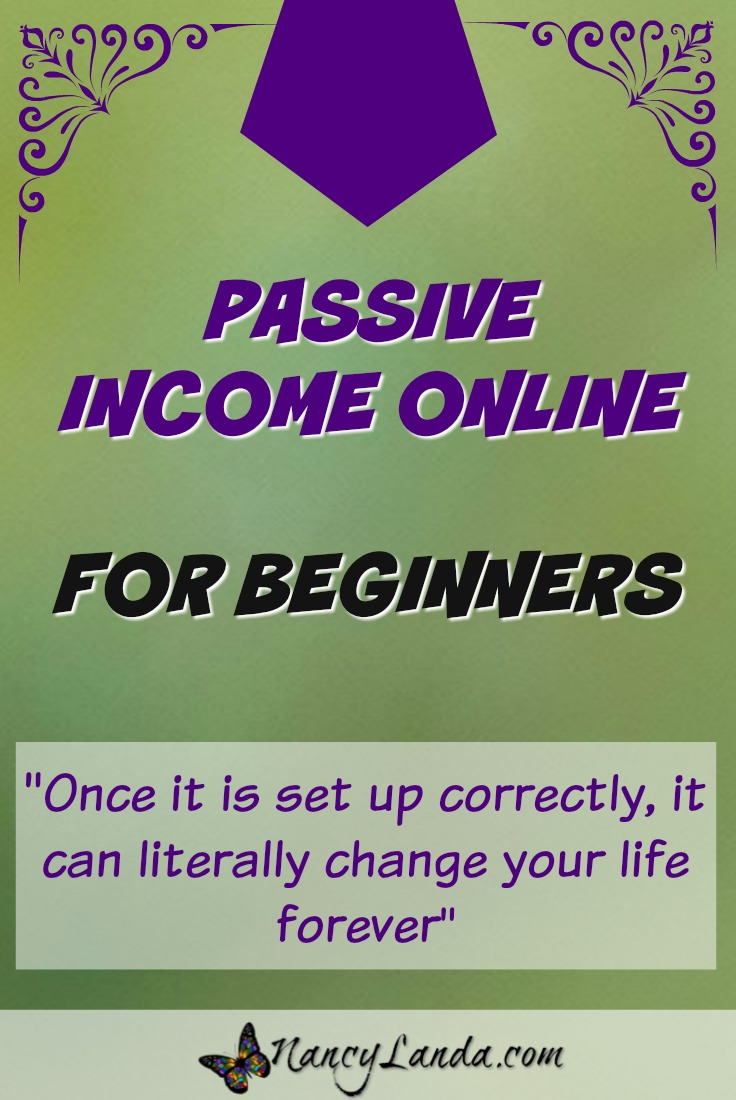 Passive Online Income For Beginners